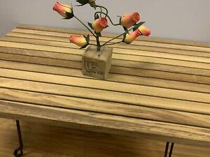 Hand Made Solid Wood Iroko African Teak coffee table  Folding Legs