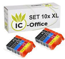 10 CANON PATRONEN PGI-525 CLI-526 +Chip für MG6150 MG5150 MG5200 MG5220 MG5250