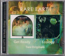 CD RARE EARTH - Get Ready & Ecology 2 on 1 NEU rar