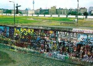 AK, Berlin Kreuzberg / Mitte, Grenzanlagen am Potsdamer Platz, 1980er