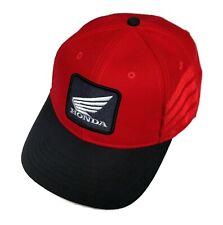 Powertex Honda Red & Black Wing Cap / Hat