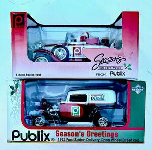 NIB Lot/2 Publix Ford Die cast scale models christmas large SpecCast