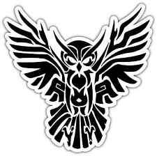 """Illuminati Owl Symbol Tribal Car Bumper Window Vinyl Sticker Decal 4""""X5"""""""