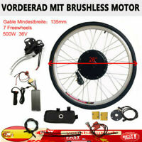 """28""""36V 500W Kit de Conversión Motor Trasero E-bike Bicicleta Eléctrica Rueda DHL"""