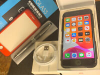 Apple iPhone 7 (128gb) Globally Unlocked (A1778) Jet Black Apple-Care {iOS13}82%