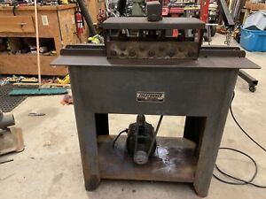 Lockformer Pittsburgh Machine 22ga General Electric 1/2 Hp motor
