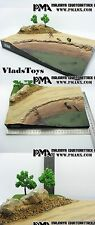 PMA Blitz72 1:72 WWII Malinava Counter Attack Road & Water scene Diorama set A