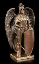 Erzengel Figur - Das Wort Gottes - Veronese Engel Bronze-Optik Statue Deko