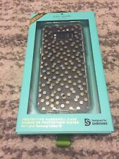Kate Spade Transparent Case with Silver and Gold Dots Samsung Galaxy S8