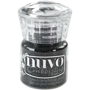Tonic - Nuvo - Embossing Powder - Glitter Noir