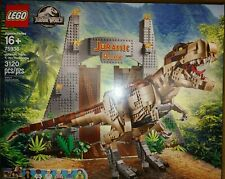 LEGO Jurassic Park: T. Rex Rampage #75936 |BRAND NEW FACTORY SEALED