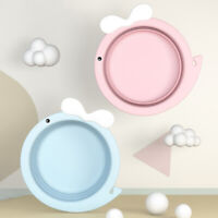 Foldable Baby Bath Tub Travel Portable Baby Basin Eco-Friendly Safe Childre M3A4