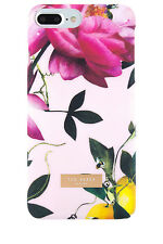 NEW Ted Baker Case for iPhone 7 Plus Citrus Bloom - Nude