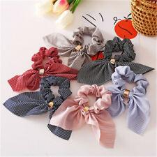 2020 Fashion Korean Girls Bunny Ear Headband Rabbit Ear Hair Band Bow Tie Gift