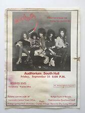 New York Dolls 1973 Memphis Concert Handbill Flyer Poster Punk Iggy The Stooges