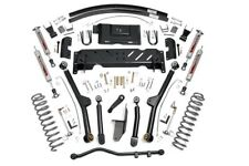 """Rough Country 4.5"""" Jeep Long Arm Suspension Lift Kit (84-01 XJ Cherokee) - 68922"""