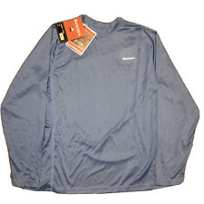 NWT Simms Fishing Solarflex Shirt Size Large Long Sleeve Shirt River Blue 30 UPF
