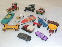 1 lot voitures miniature et divers