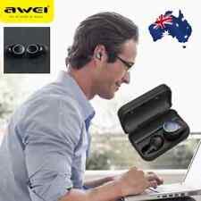 AWEI T3 Twins Wireless BT 5.0 Earbuds Earphone Headphones + Charging Box Hot