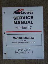 1996 MerCruiser Marine Engine GM V-8 305 / 350 CID Service Manual 17 Book 2  U
