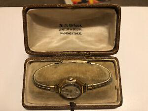 Vintage Avia Gold Ladies Watch Antique Working