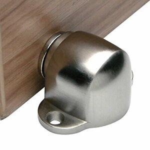 Hapsun Magnetic Door Stop CatchStainless Steel Brushed Door Stopper Floor Mount