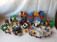 Lego Duplo Ville Zoo Deluxe-Set 5635 + ZOO voitures-beaucoup d'animaux-COMPLET