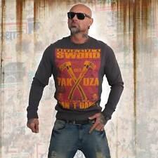 Nuevos señores yakuza Sword suéter Sweater-Ebony