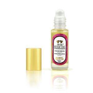 Hydrating Lip Oil - 99% Rosa Oil 5 ml Birthday Gifts for Women Girl Wife Mom