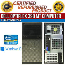 Dell OptiPlex 390 Windows 10 PC Desktops & All-In-One