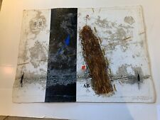 "JAMES COIGNARD CARBORUNDUM ETCHING ""DYNAMIC EN BRUN"" C-28 LIMITED SIGNED WOW"
