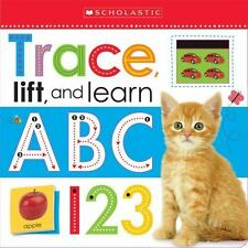 Trace, Play, and Learn: ABC 123 (Scholastic Early Learners) (2015, Board Book)