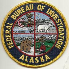 Fbi: alaska Federal Bureau of Investigation Police Patch policía Patch oso polar