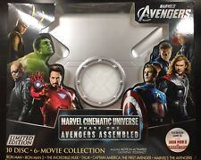 Marvel Cinematic Universe Phase One Avengers Assembled MCU 1 Blu-ray (LIKE NEW)