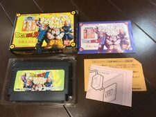 FREE SHIPPING  Famicom NES Nintendo Import JAPAN DRAGONBALL Z 3