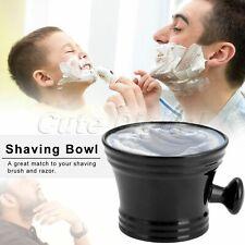 "1Pc Portable ABS Shaving Mug Bowl Beard Hair Cut Tool Lather Cream Cup Dia 4.33"""
