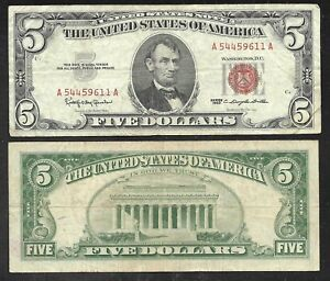 US - Legal Angebot/Rot Dichtung Note - 1963 - Fein Oder Besser