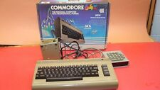 COMMODORE 64 COMPUTER W/ NUMBERS PAD + 1541 DISC DRIVE + DATASSETTE + MANUALS