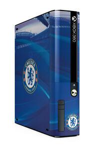 Xbox 360 E GO Console Skin Sticker Chelsea Football Club Blues Brand New