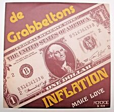 "De Grabbeltons Inflation/ Make Love 7"" 2018 limited reissue 300 only  FUZZ PSYCH"
