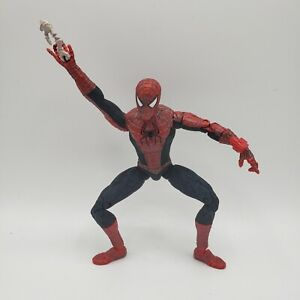 "Spider-man 2 Movie 6"" Figure Marvel Toy Biz 2003 Fully Articulated string web"