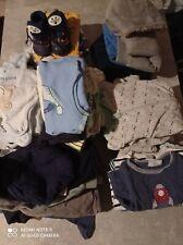 60 tlg. Bekleidungspaket Baby Junge gr.62/68