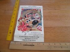 1994 Wallace and Gromit Spike & Mike's Animation festival program pamphlet