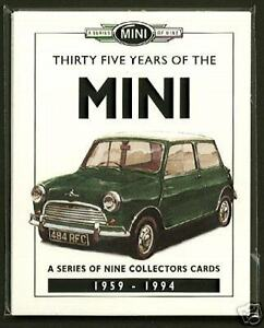 35 YEARS OF THE MINI - Original Collectors Card Set - Minor City Works Cooper S