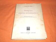 vincenzo del giudice manuale di diritto ecclesiastico giuffrè 1951