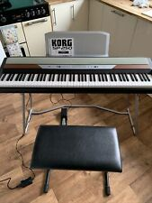 More details for korg sp250 weighted 88-key digital piano, with pedal, seat and stand.