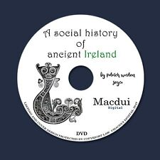 A social history of ancient Ireland 1920 by P. W. Joyce - 2 PDF E-Books 1 DVD