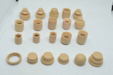 21 un. 1/6 Conector Adaptador conjunta de cuello Peg para cabeza esculpida de cuerpo de Hot Toys