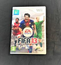 FIFA 13 Nintendo Wii game with game`s manual – Pal – UK