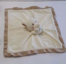 Elephant Lovey 100% Baby Made with Love Velour Soft Security Blanket Cream